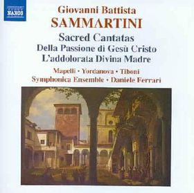 Sammartini Giovanni Battista - Sacred Cantatas For Soloists (CD)