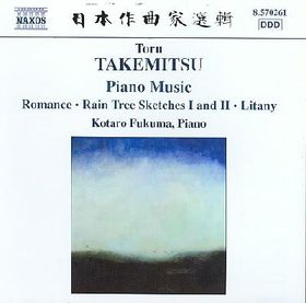 Takemitsu - Piano Music (CD)