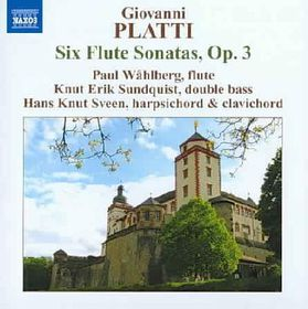 Sundquist, Knut Erik / Sveen, Hans Knut / Wahlberg, Paul - Six Flute Sonatas Op 3 (CD)