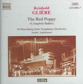St.Petersburg State Symphony Orchestra - Red Poppy Complete Ballet (CD)