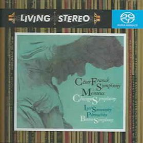 Pierre Monteux - Franck: Symphony in D Minor; Stravinsky (CD)