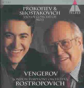 Maxim Vengerov - Violin Concerto No.1 (CD)