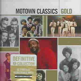 Motown Classics Gold - Various Artists (CD)