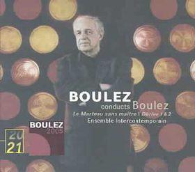 Boulez/ 20/21 - Le Marteau Sans Maitre Derives 1&2 (CD)