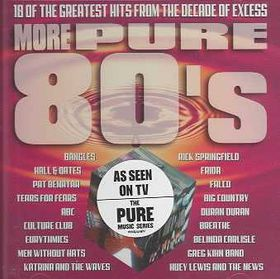 More Pure 80's - Various Artists (CD)