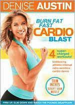 Denise Austin:Burn Fat Cardio Blast - (Region 1 Import DVD)