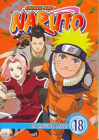 Naruto Vol 18 - (Region 1 Import DVD)