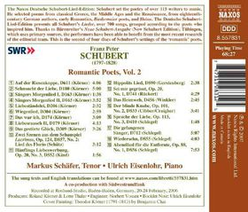 Eisenlohr, Ulrich / Schafer, Markus - Romantic Poems - Vol.2 (CD)