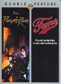Purple Rain/Fame - (Region 1 Import DVD)