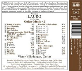 Lauro: Guitar Music Vol 2 - Guitar Music Vol 2 (CD)