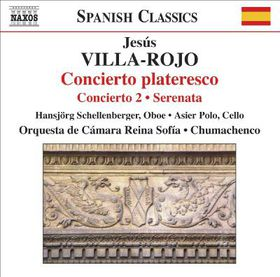 Villa Rojo - Concierto Plateresco (CD)