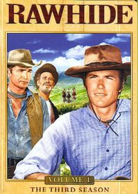 Rawhide:Season Three Vol 1 - (Region 1 Import DVD)