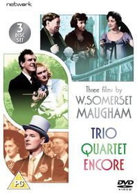 Three Films By Somerset Maugham - Trio / Encore / Quartet - (Import DVD)