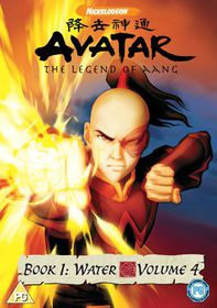 Avatar - The Legend Of Aang - Book 1 - Water Vol.4 - (Import DVD)