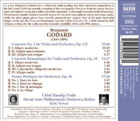 Slovak State Philharmonic Orchestra, Kosice - Violin Concerto No.2 (CD)