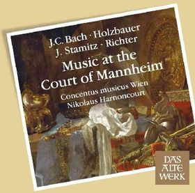 Musica At The Court Of Mannheim - Various Artists (CD)