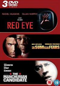 Red Eye / Sum of all Fears / Manchurian Candidate - (Import DVD)