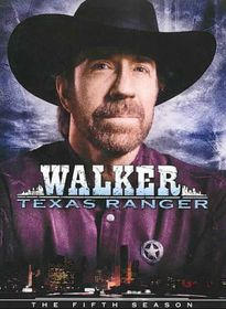 Walker Texas Ranger:Fifth Season - (Region 1 Import DVD)