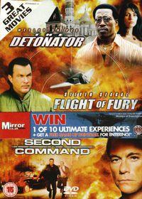 Flight of Fury / Detonator / Second in Command - (Import DVD)