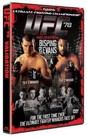 Ufc 78-Validation - (Import DVD)