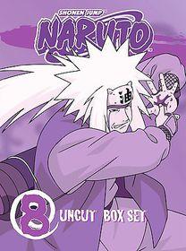 Naruto Uncut Vol 8 - (Region 1 Import DVD)