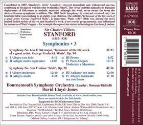 Stanford: Symphonies 3 & 6 - Symphonies Nos.3 & 6 (CD)