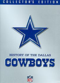 Nfl History of the Dallas Cowboys - (Region 1 Import DVD)