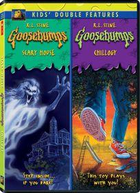 Goosebumps:Scary House/Chillogy - (Region 1 Import DVD)