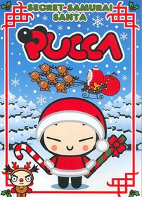Pucca:Secret Samurai Santa - (Region 1 Import DVD)
