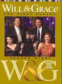 Will & Grace Season 8 - (Region 1 Import DVD)