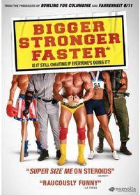 Bigger Stronger Faster - (Region 1 Import DVD)