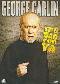 Carlin It's Bad for Ya - (Region 1 Import DVD)