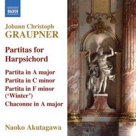 Akutagawa, Naoko - Partitas For Harpsichord (CD)