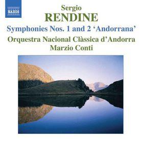 Rendine: Symphonies 1 & 2 - Symphonies Nos.1 & 2 (CD)
