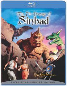 7th Voyage of Sinbad:50th Anniversary - (Region A Import Blu-ray Disc)