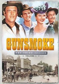 Gunsmoke:Third Season Vol 1 - (Region 1 Import DVD)