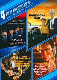 4 Film Favorite:Clint Eastwood Comedy - (Region 1 Import DVD)