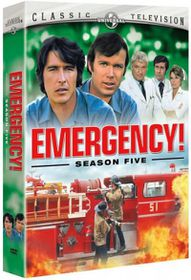 Emergency Season Five - (Region 1 Import DVD)