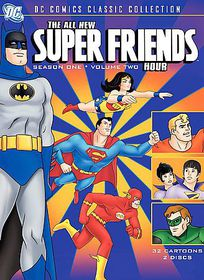 All New Superfriends Hour S1 V2 - (Region 1 Import DVD)