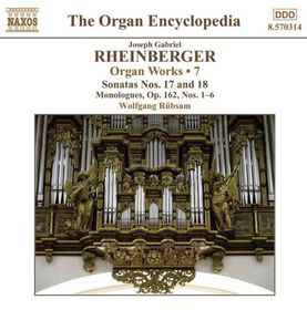Rheinberger: Organ Works Vol 7 - Organ Works - Vol.7 (CD)