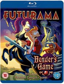 Futurama: Bender's Game - (Import Blu-ray Disc)