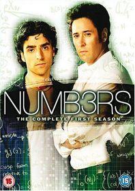 Numb3rs: Season 1 - (Import DVD)