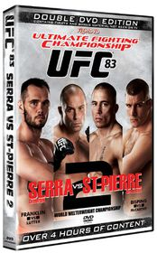 Ultimate Fighting Championship: 83 - Serra vs St. Pierre 2 - (Import DVD)