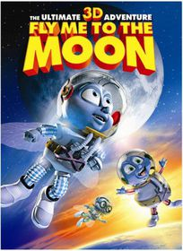 Fly Me to the Moon 3D - (Region 1 Import DVD)