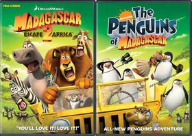 Madagascar:Escape 2 Africa/Nick Penguins - (Region 1 Import DVD)