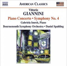 Giannini - Piano Concerto (CD)
