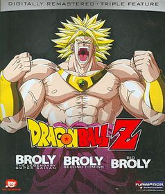 Dragon Ball Z:Broly Triple Feature (M - (Region A Import Blu-ray Disc)