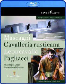 Mascagni:Cavalleria Rusticana & Pagli - (Region 1 Import Blu-ray Disc)