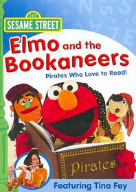 Elmo and the Bookaneers:Pirates Who - (Region 1 Import DVD)