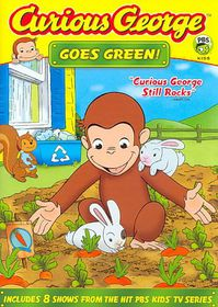 Curious George Goes Green - (Region 1 Import DVD)